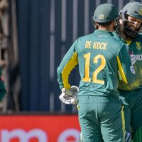 Amla and de Kock smash centuries to see South Africa canter to a ten-wicket win over Bangladesh at Kimberley